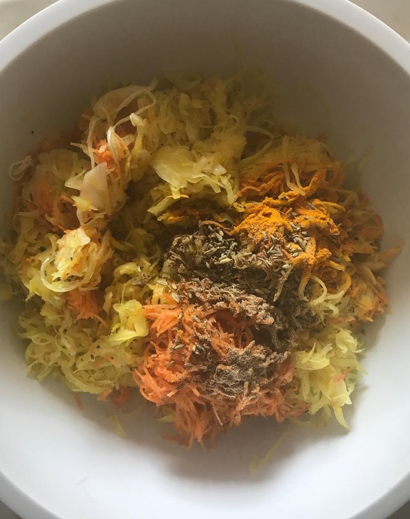 Turmeric, Cumin and Carrot Sauerkraut | Culture Love